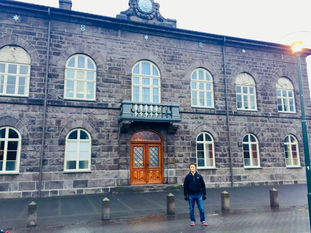 Iceland's Parliament House