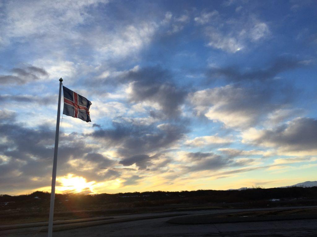 Iceland Sun Rise