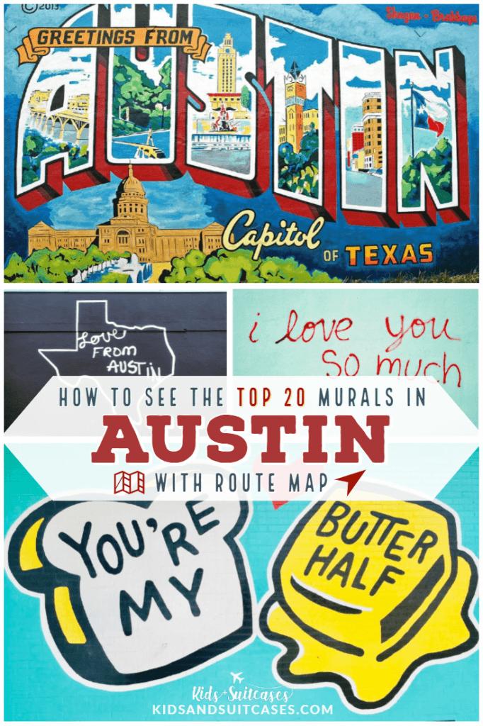 Austin Murals Pin