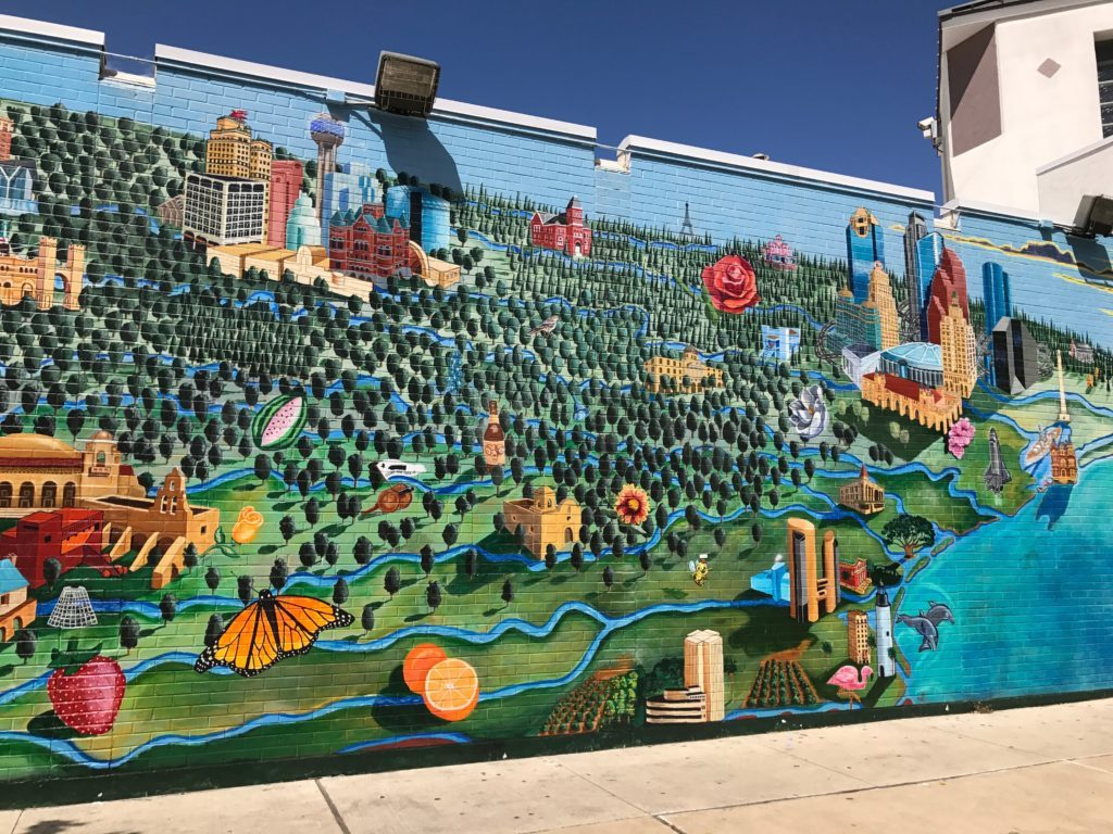 All Across Texas Mural