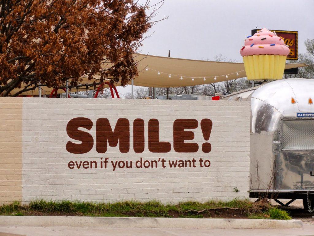Smile Mural