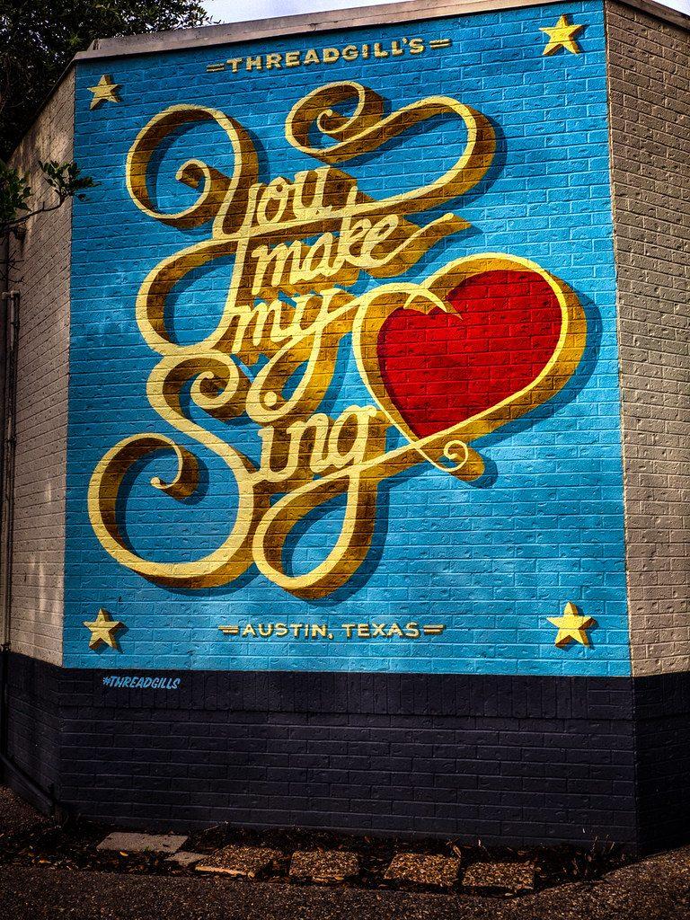 You Make My Heart Sing Mural