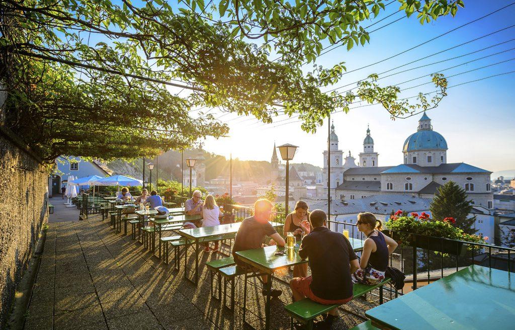 Stiegelkeller Salzburg Beer Garden