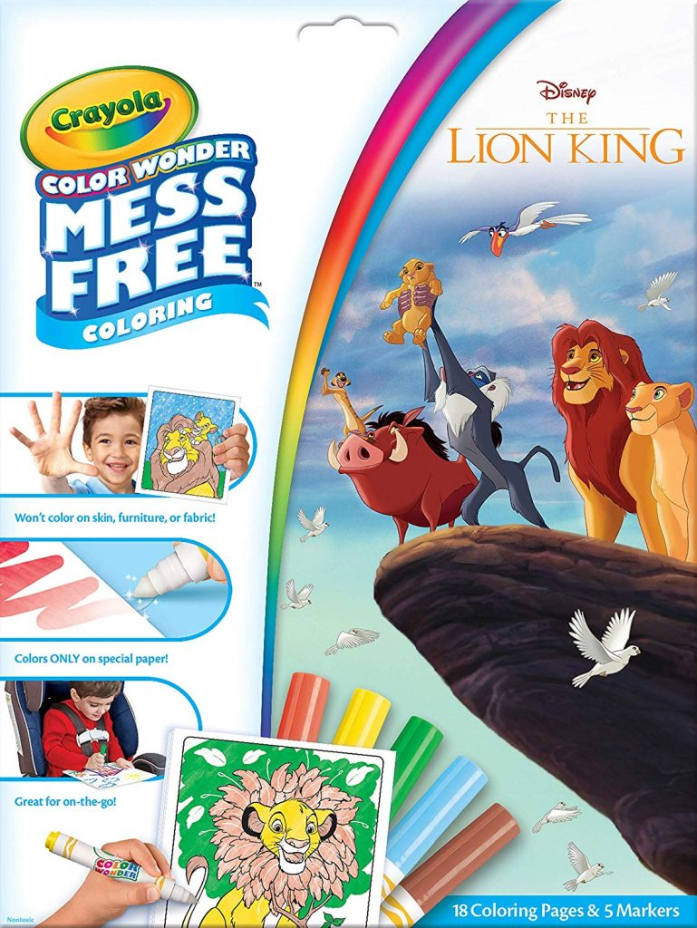 Crayola Color Wonder Coloring Book