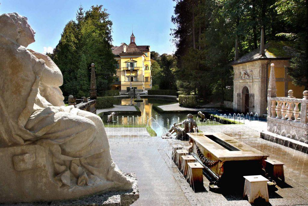 Hellbrunn Palace Front
