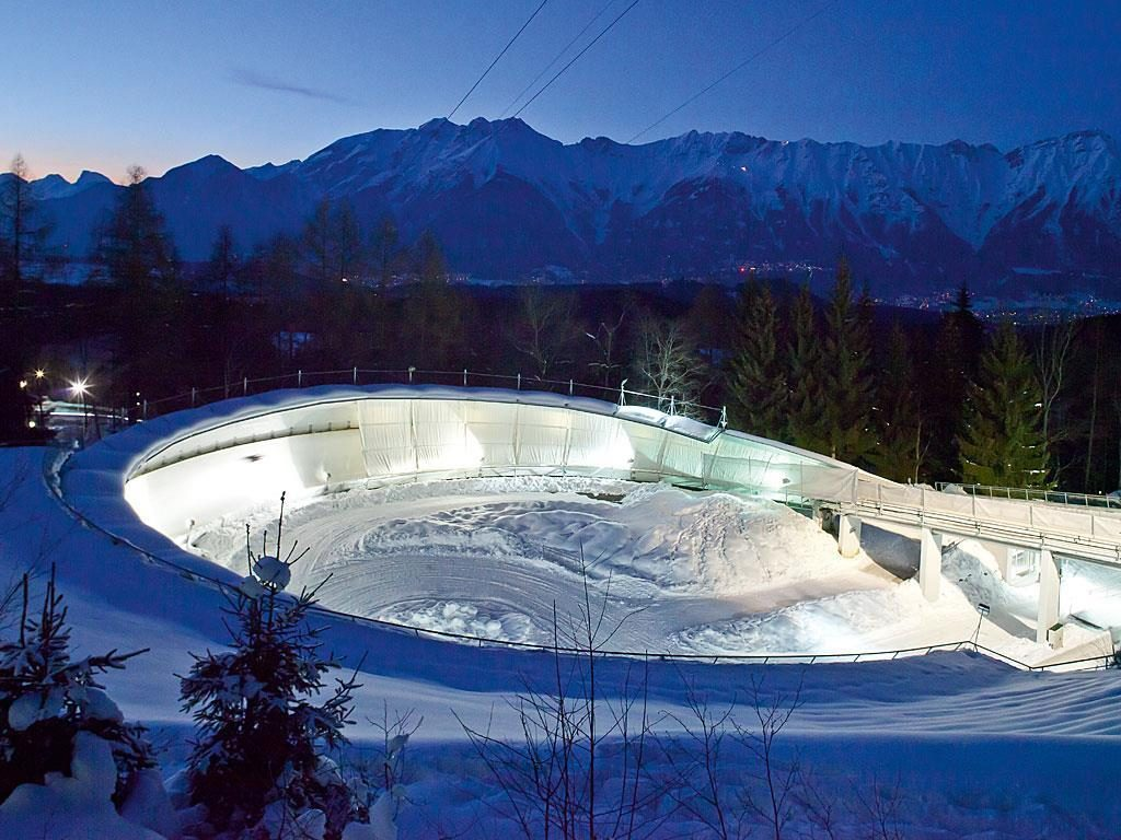 Igls Ice Track and Bobsled Center